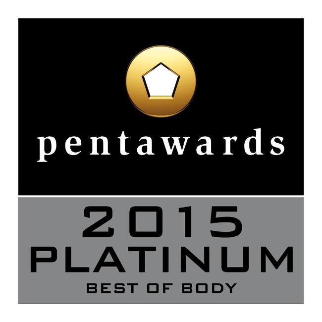 Pentawards 2015 Platinum(プラチナ賞・部門別最優秀賞)