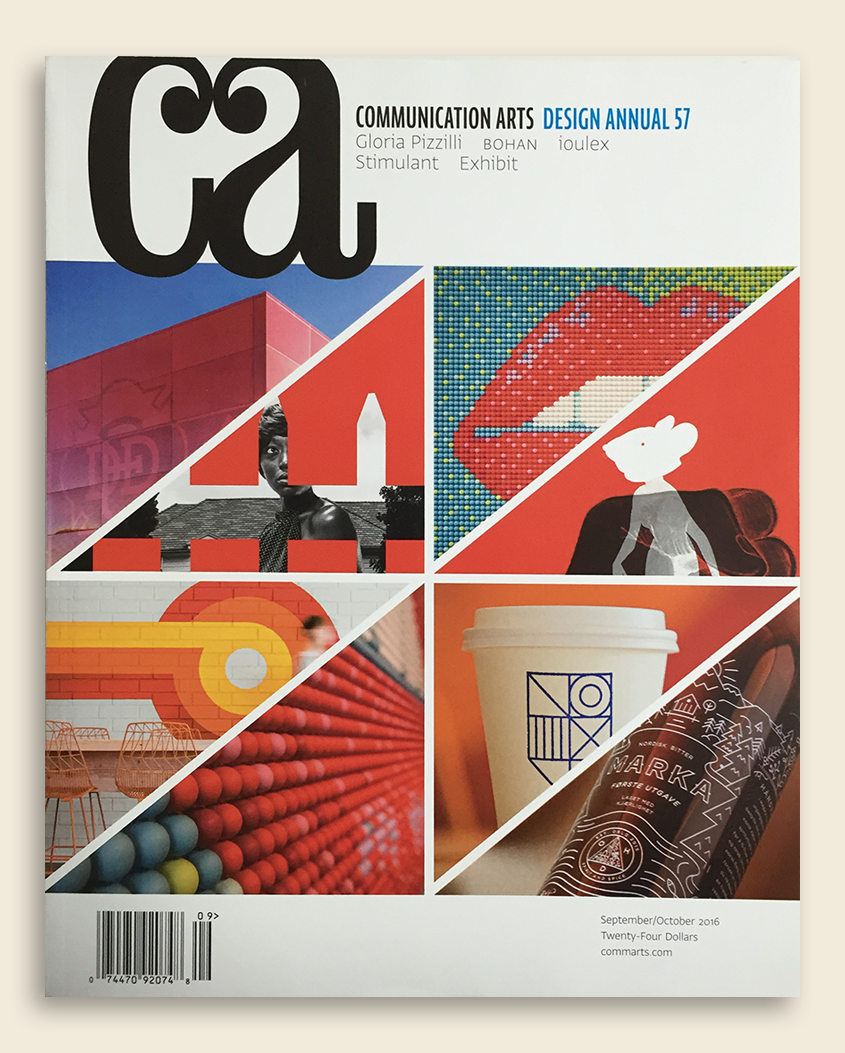 「COMMUNICATION ARTS Design Annual 57」(アメリカ)に掲載されました。