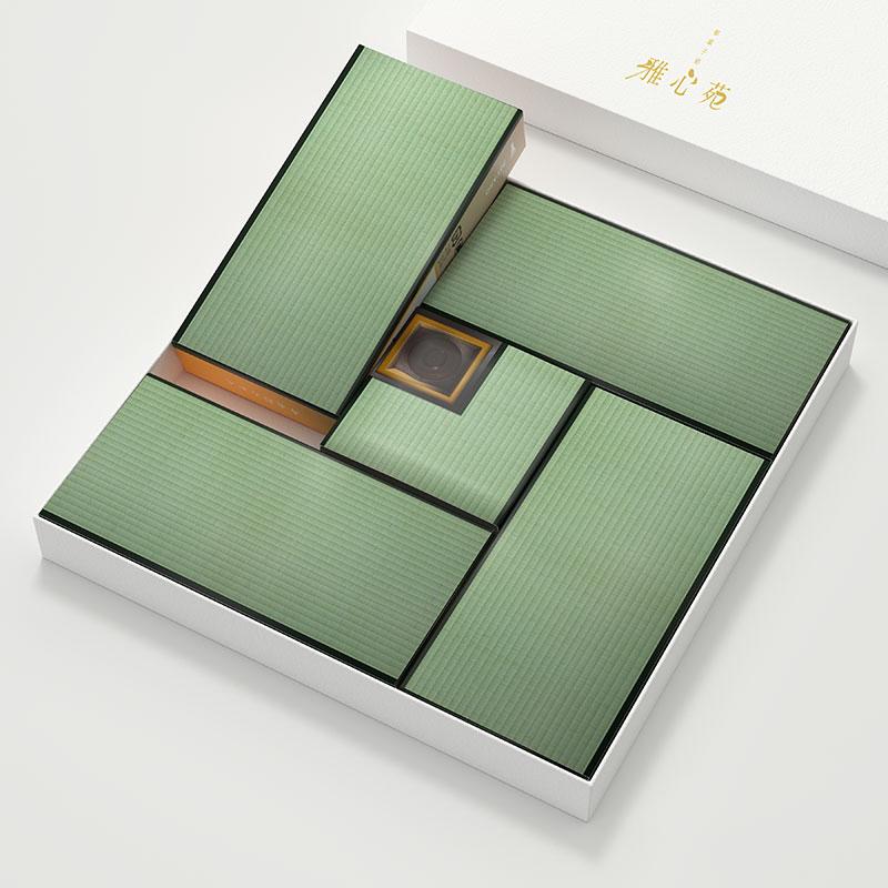 みやび最中 – 茶室モチーフのパッケージデザイン