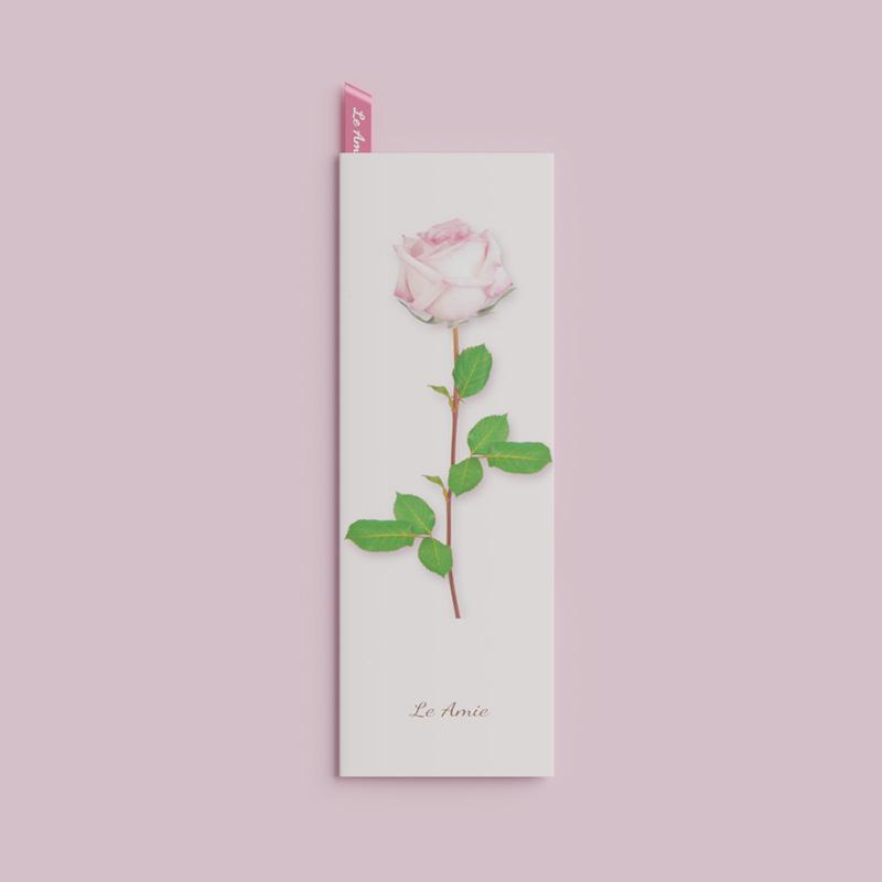 エステサロンパンフレットデザイン(バラ・カーネーション・ユリ)