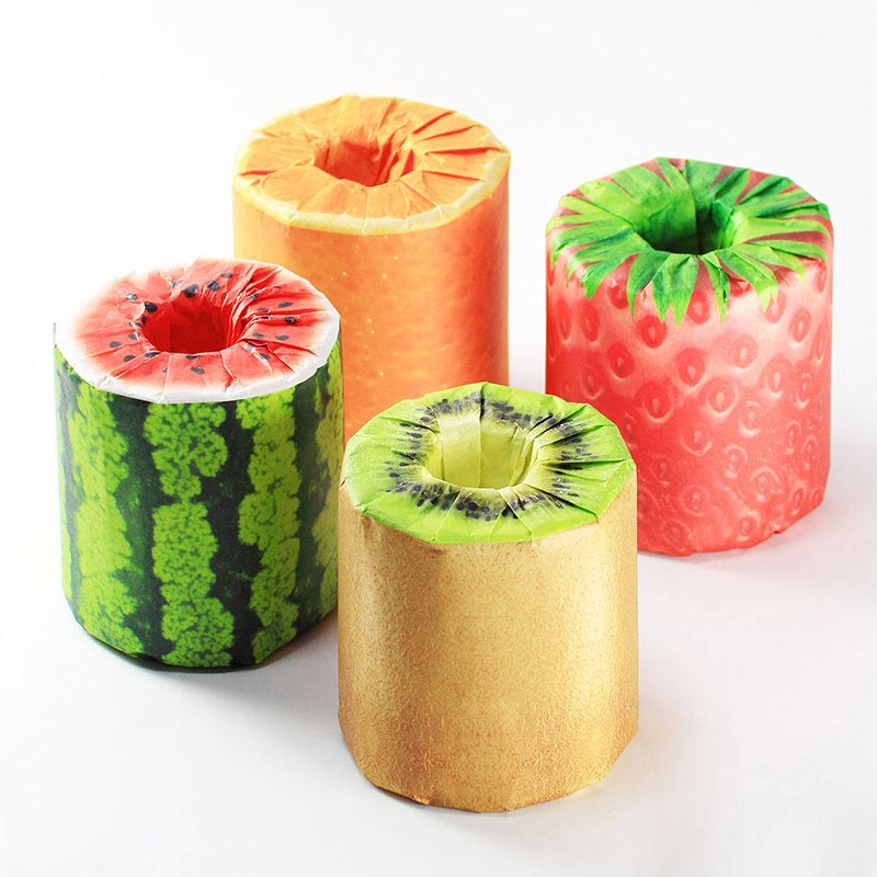 The Fruits Toilet Paper(パッケージデザイン)