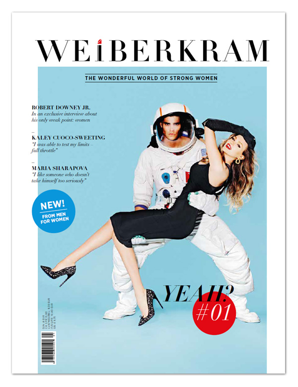 WEIBERKRAM(ドイツ・ファッション誌創刊号)に掲載されました。