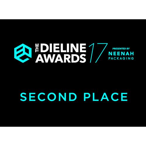 パッケージデザイン賞 受賞 The Dieline Awards 2017 2nd Place(アメリカ)