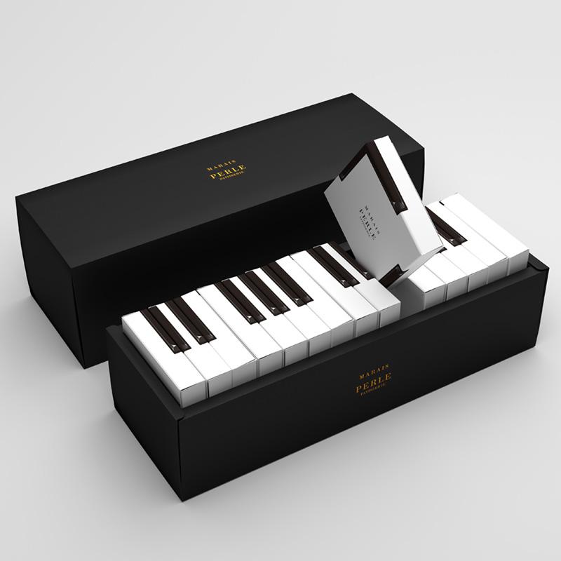 MARAIS – Piano cake packaging(パッケージデザイン)