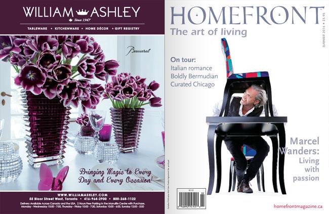 HOMEFRONT Magazine (カナダ)に掲載されました。