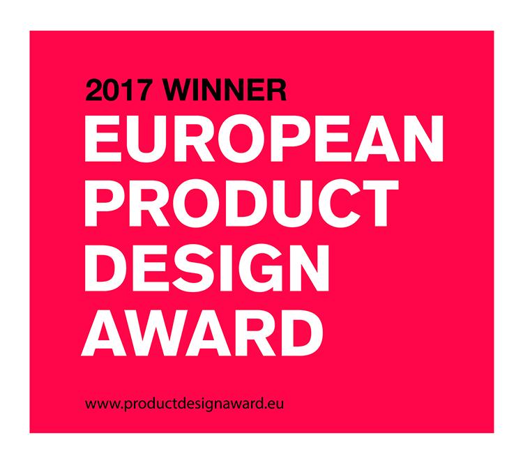 パッケージデザイン賞 受賞 European Product Design Award 2017 Silver(ハンガリー)