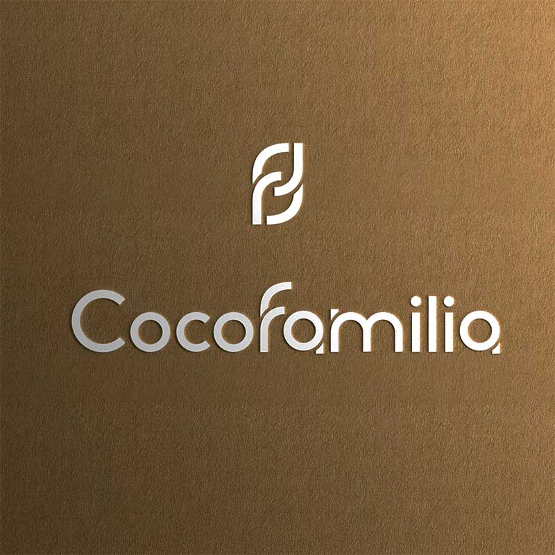 Cocofamilia ロゴマークデザイン・ブランディング(介護施設・静岡県沼津市)