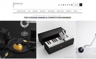 "Inspirationist ""Top 20 A' Design Award Winners"" に選ばれました。"