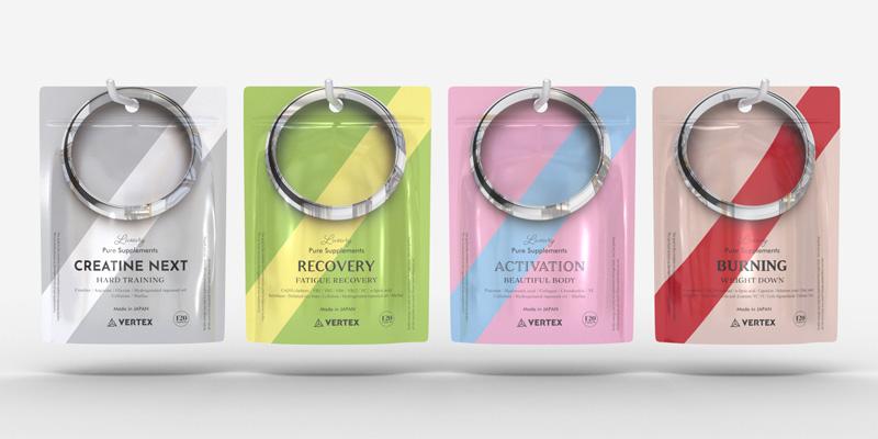Promise Ring – Vertex Supplements Packaging(サプリメントパッケージデザイン)