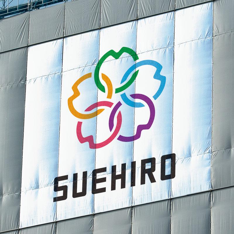 ロゴデザイン、ブランディング(外装専門工事会社、静岡・東京・札幌)