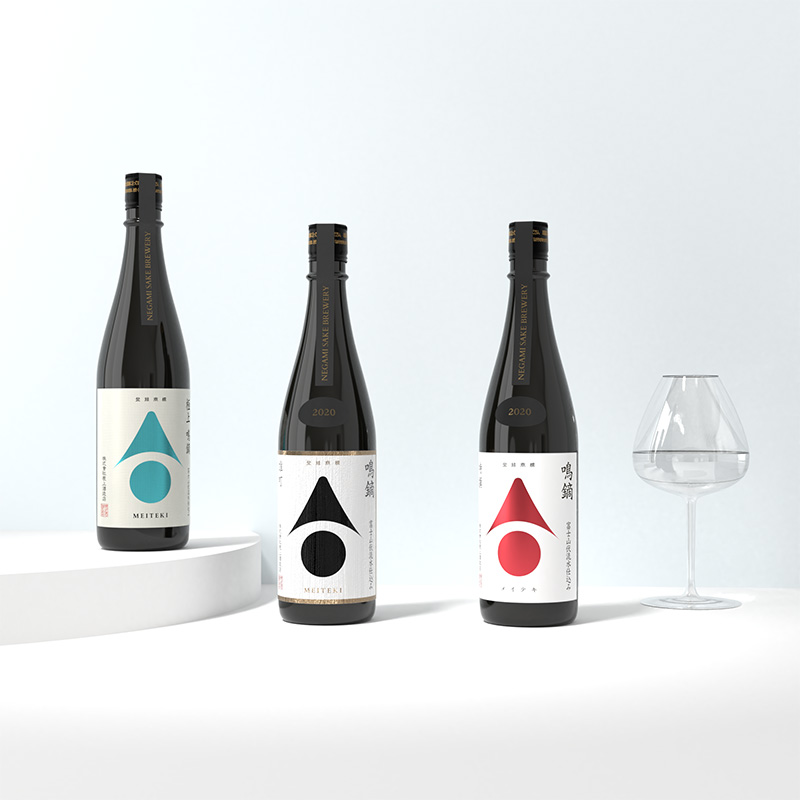 日本酒ロゴ・ラベルデザイン(静岡県御殿場市・日本酒蔵元)